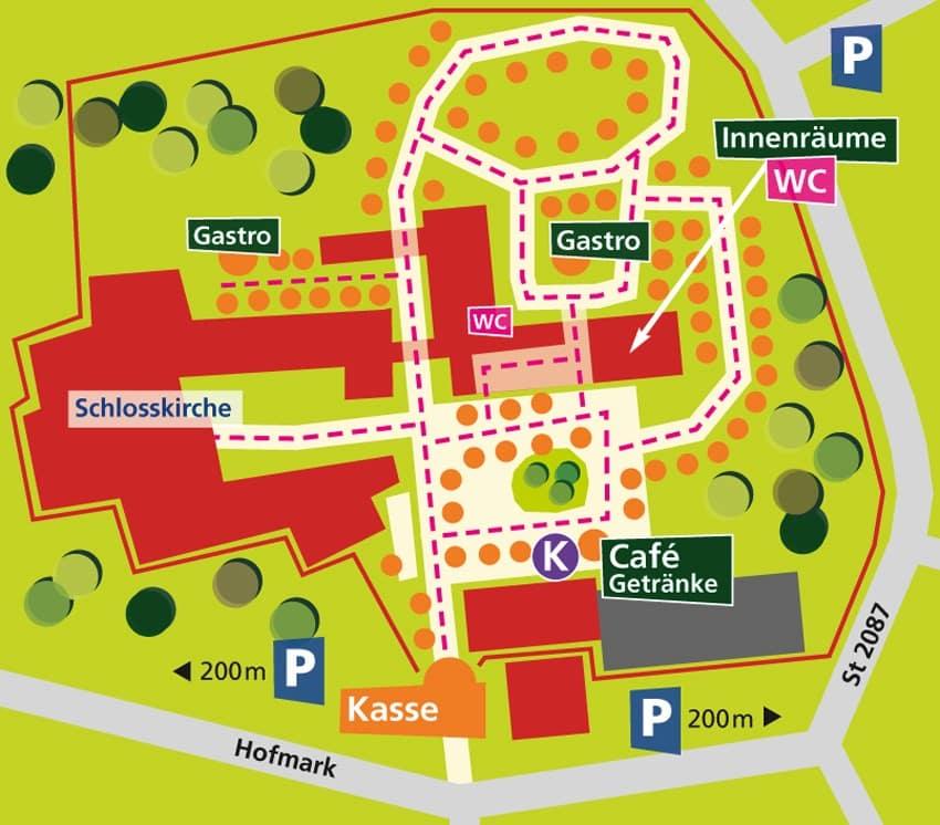 Lageplan Landlust Neufraunhofen